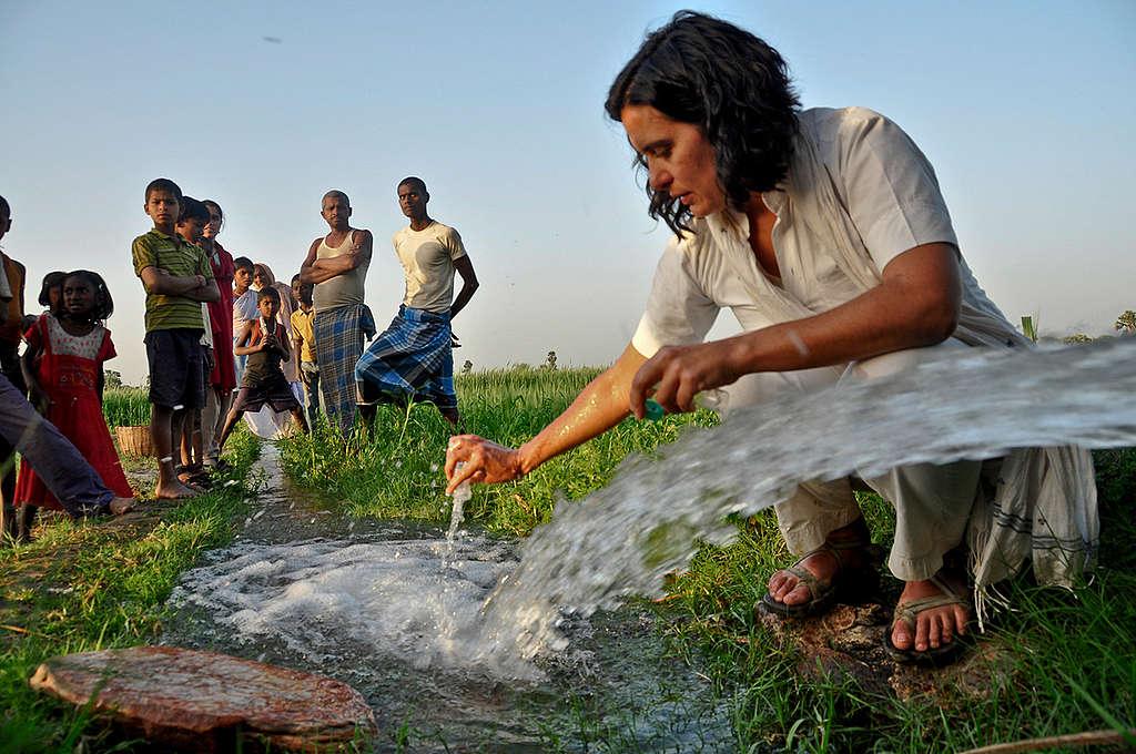 Reyes Tirado, científica en la ciencia de Greenpeace