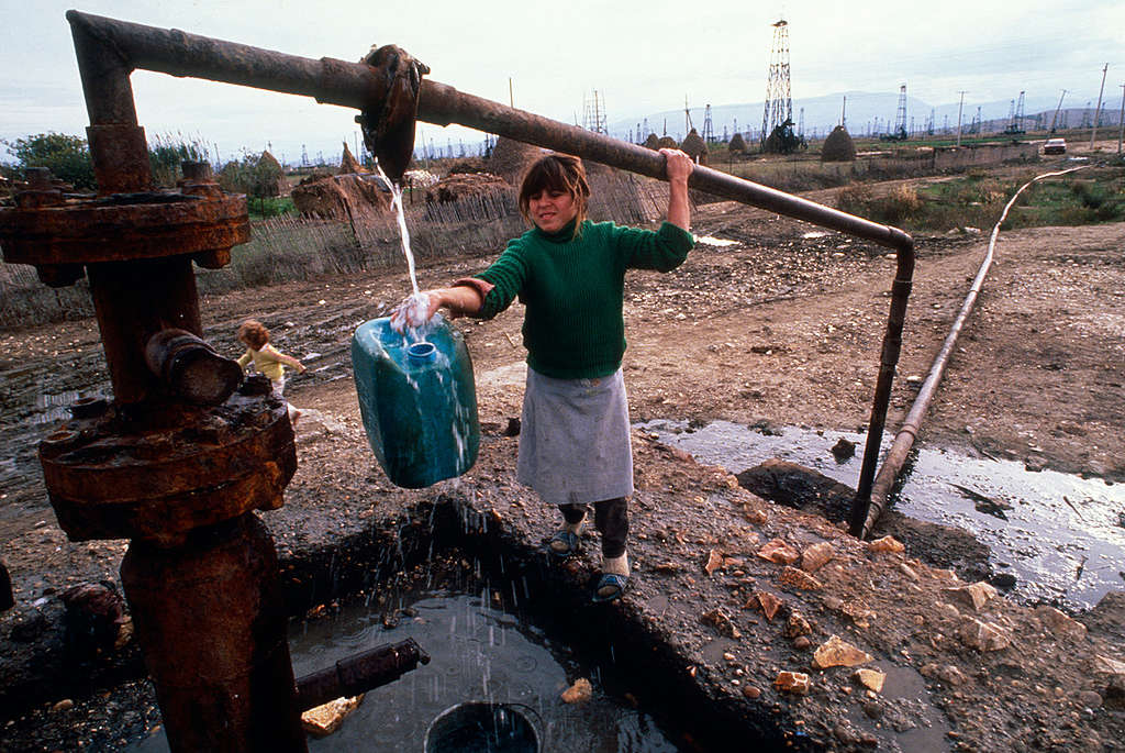 Escasez de agua potable