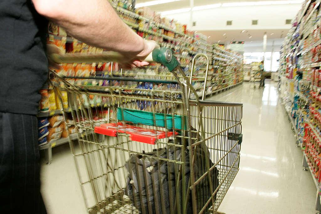Desventajas para el planeta de comprar en supermercados