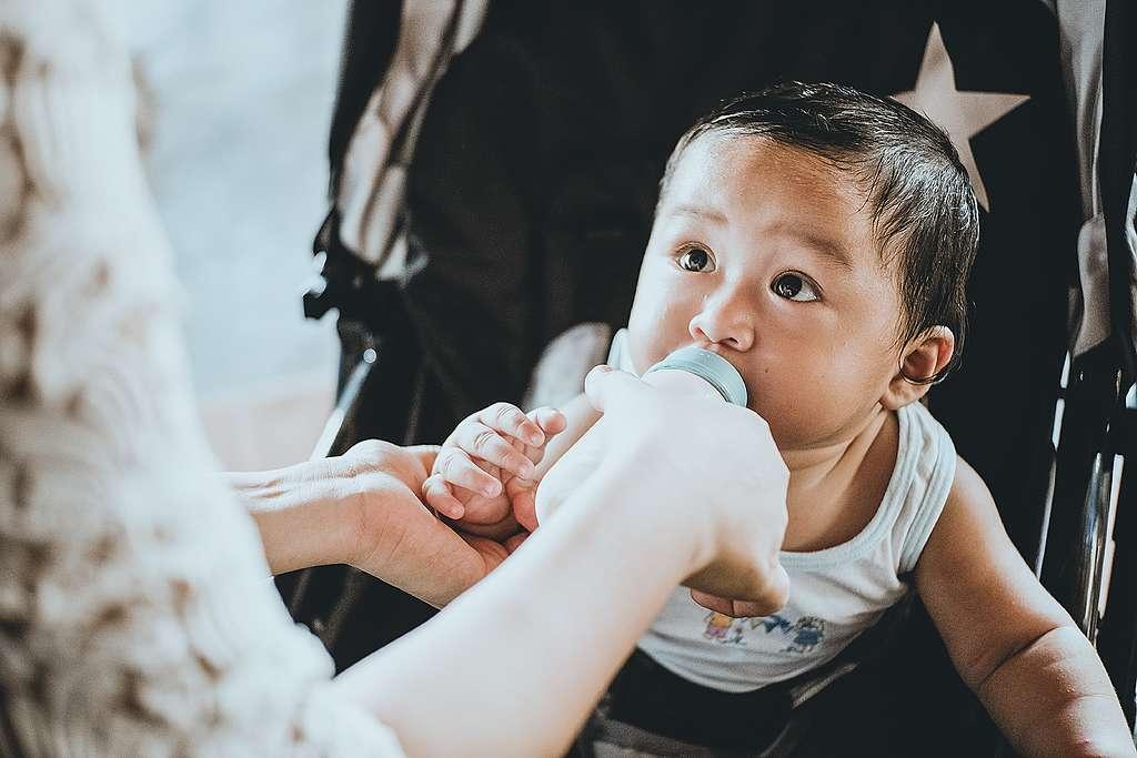 Lactancia materna y medio ambiente