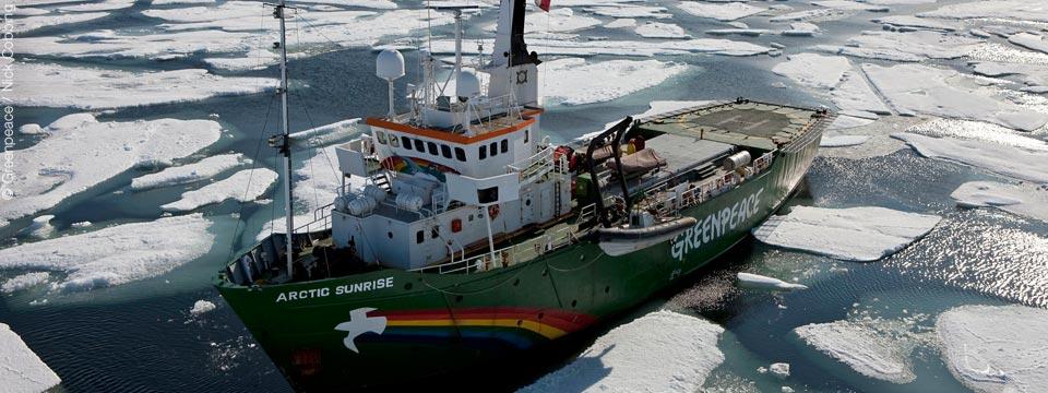 Arctic Sunrise - Barco Greenpeace