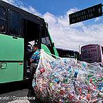 Senadores, no a su ley en favor de la industria del plástico