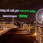 """Greenpeace México """"arroja luz"""" para que aspirantes a puestos públicos restauren las ciudades."""