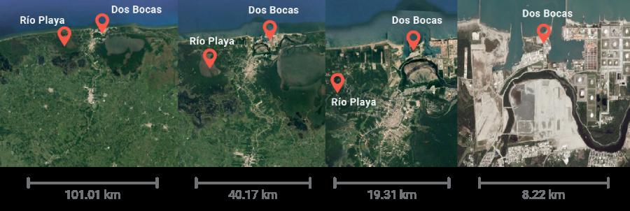 Contaminación refinería Dos Bocas