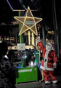 Por supuesto que es posible un consumo responsable durante la Navidad, ¡solo requiere un poco de esfuerzo y todo tu compromiso! © Jed Delano / Greenpeace.