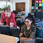 Greenpeace UK Office in London. © Suzanne Plunkett / Greenpeace
