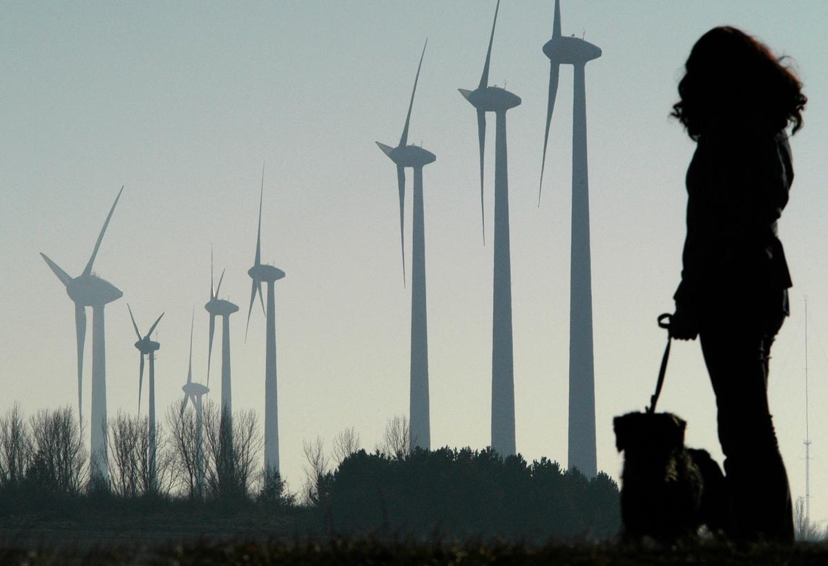 Enercon Wind Farm in Germany