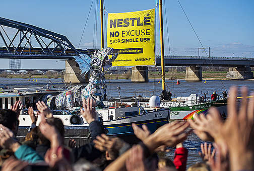 Nestlé: stop wegwerp plastic!