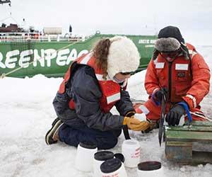 ...tot plastic vervuiling in Antarctica