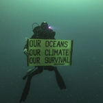 From the depth of the Amazon Reef, off the coast of French Guiana, deep divers aboard the Esperanza are sending a clear message for the release of the IPCC report on the Oceans, urging our leaders to act: Our Oceans, Our Climate, Our Survival.