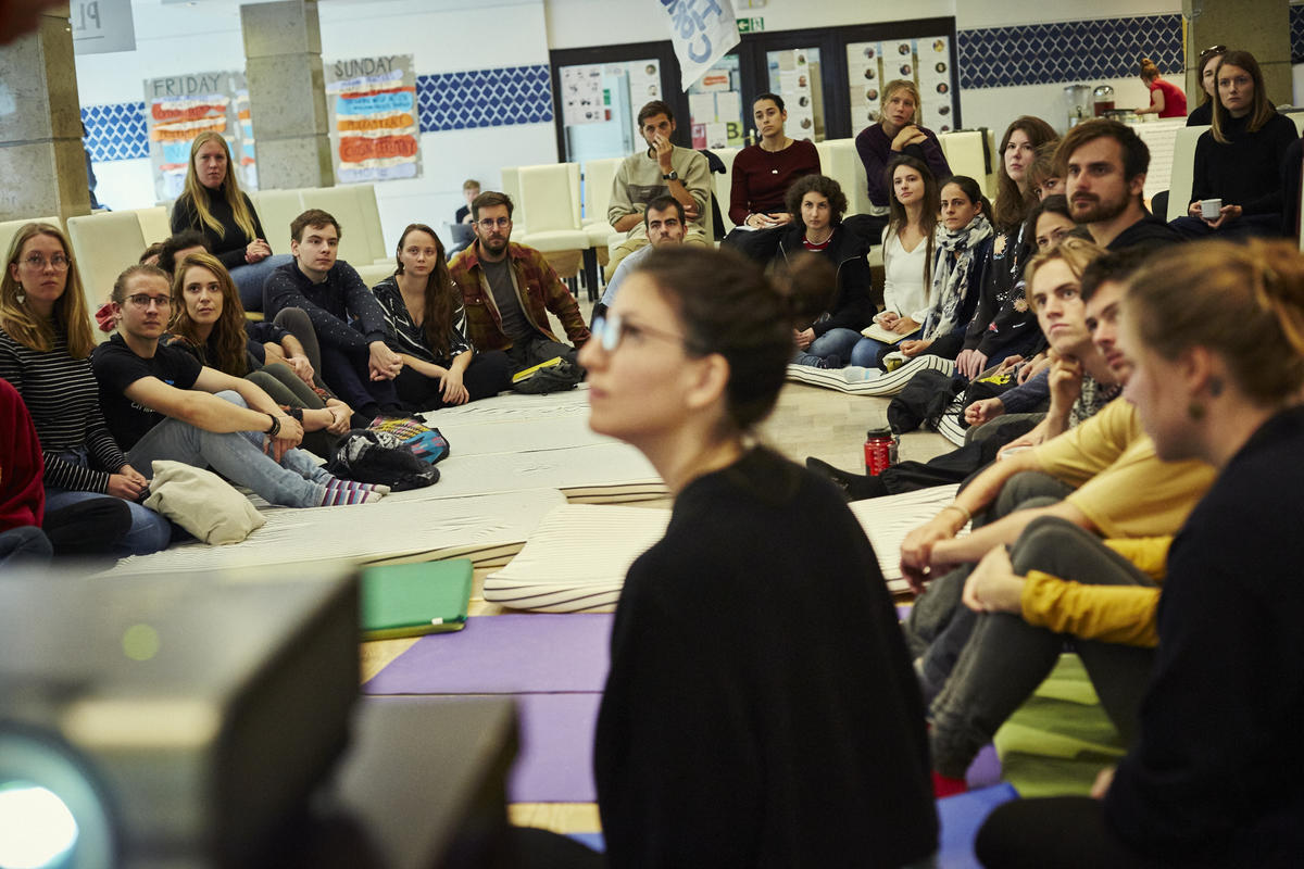 European Changemakers Camp in Poland. © Greenpeace