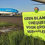 Het kabinet stelt boterzachte klimaatvoorwaarden aan de KLM-deal