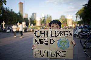 Global Climate Strike in Bangkok. © Chanklang  Kanthong / Greenpeace