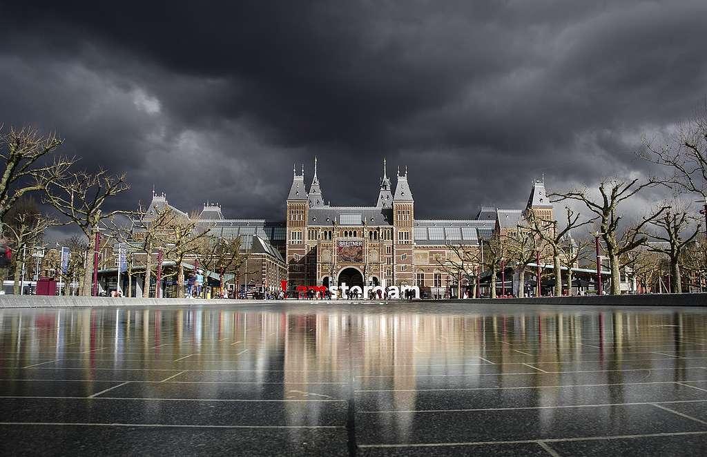 Klimaatverandering in Nederland kan onheilspellende gevolgen hebben.