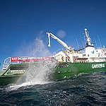 Greenpeace Verenigd Koninkrijk komt opnieuw in actie om kwetsbaar zeeleven te beschermen