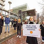 Studenten dienen klacht in tegen misleidende Shell reclames