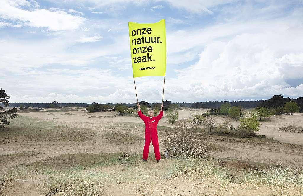 Actievoerder natuurzaak