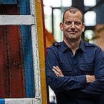 AMSTERDAM - Portret van Andy Palmen, directeur Greenpeace Nederland. FOTO MARTEN VAN DIJL / GREENPEACE