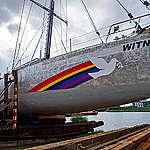 We hebben een nieuw zeilschip, ze heet Witness!
