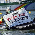 Update: Actie Greenpeace bij olieraffinaderij Pernis beëindigd