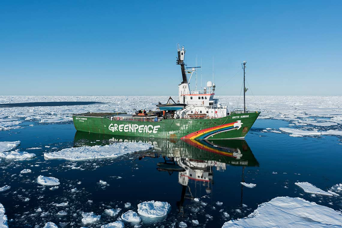 Our Ships - Greenpeace New Zealand