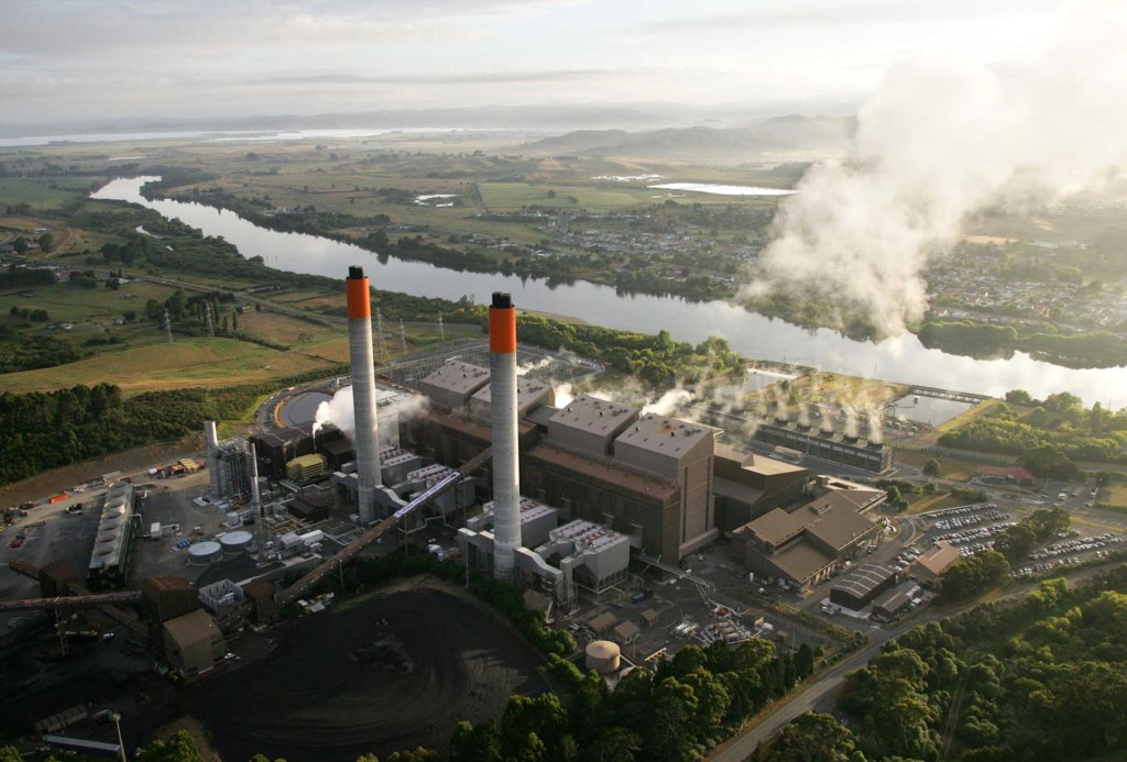 Huntly coal fired power station