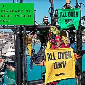 2019 Greenpeace NZ Annual Impact Report