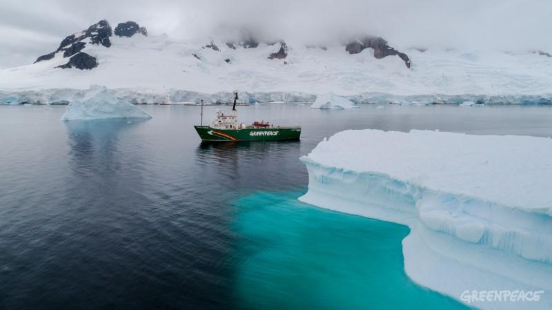 Antarctic Sunrise i Antarktis