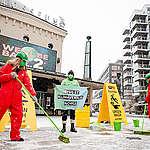 Greenpeace markerte mot grønnvasking