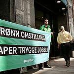 Greenpeace om energimeldingen: – Setter arbeidsplasser og klimaet i fare