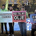 Hurdalsplattformen møtt med klima- og miljøprotest