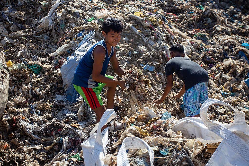 Korean Waste in Mindanao. © Manman Dejeto / Greenpeace