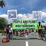SONA Protest in the Philippines. © Greenpeace