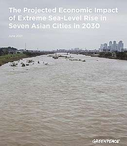 cover photo of 2030 seal-level rise report