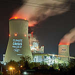 'Climate crisis fuelled by PGE'. Poland opens new coal power plant
