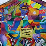 MURALUL RIDICĂ MORALUL!    Mural Greenpeace și Valea Jiului Implicată, la Petroșani