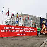 Banca Europeană de Investiții nu a exclus încă finanțarea marilor poluatori. Ce scrisoare a trimis Greenpeace către  Ministrul Finanțelor, membru în consiliul BEI?