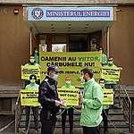 Drept la replică Greenpeace pentru Ministrul Energiei, domnul Virgil Popescu