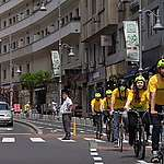 Greenpeace solicită primarului capitalei, Nicușor Dan, extinderea rețelei de piste de biciclete