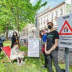 V oblasti udržateľnej dopravy Bratislave zatiaľ chýba odvaha, odkazujú aktivisti