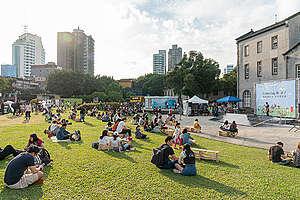 GreenDay Plastic-Free Picnic Event in Taiwan. © Greenpeace / Chong Kok Yew