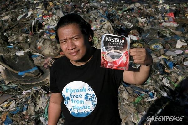 Osvobodimo se plastike. (c) Greenpeace.