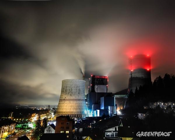 TEŠ6. (c) Kralj / Greenpeace.