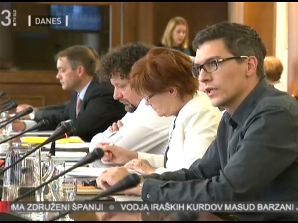 Seja DZ RS na temo energetske revščine - dr. Dejan Savić, Greenpeace. (c) MMC RTV SLO, 2017.
