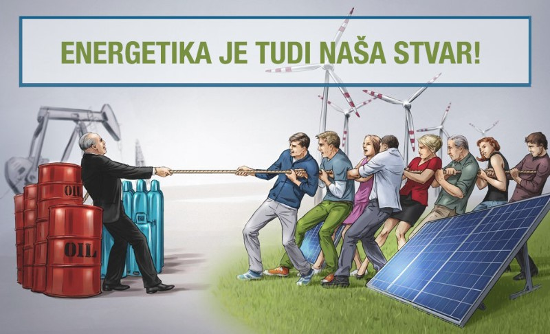 Energetika je tudi naša stvar! (c) Greenpeace