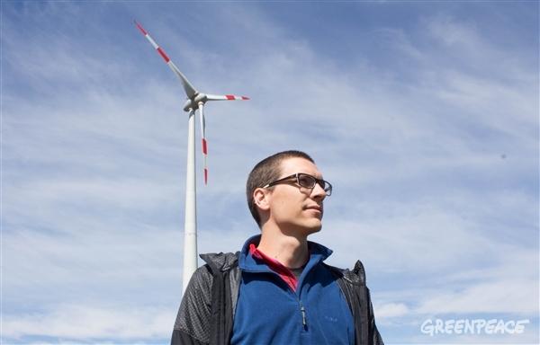 Zastopnik za energetsko politiko pri Greenpeace Slovenija, dr. Dejan Savić. (c) Greenpeace.