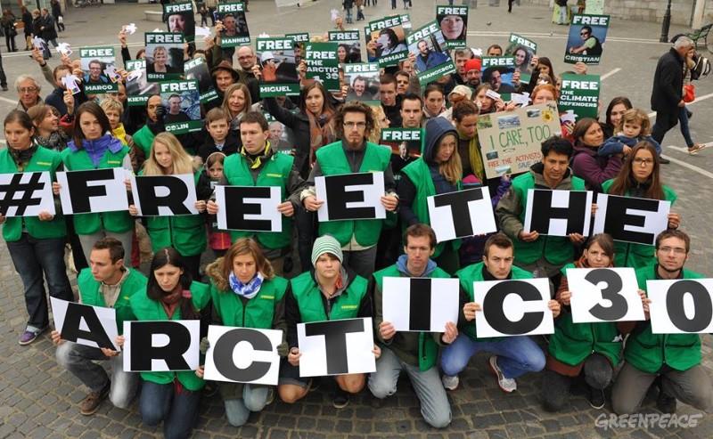 Solidarnostni shod v Ljubljani