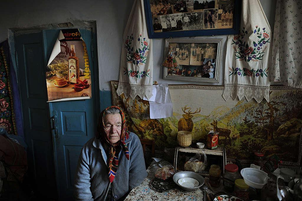 Life in the 30 km Zone of Chernobyl. © Jan Grarup / Noor / Greenpeace
