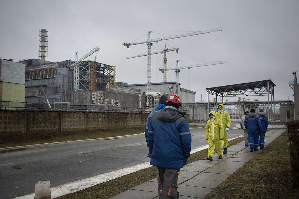 Chernobyl 30 Years After the Nuclear Disaster. © Denis  Sinyakov / Greenpeace