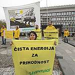 Več kot desetletje boja za čisto okolje in zeleno prihodnost Greenpeacea v Sloveniji